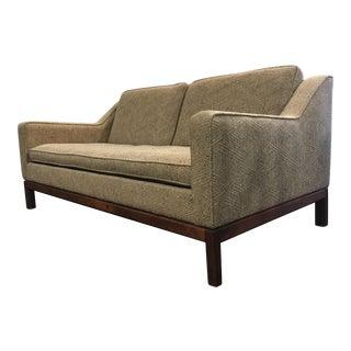 Jens Risom Mid Century Modern Sofa Love Seat