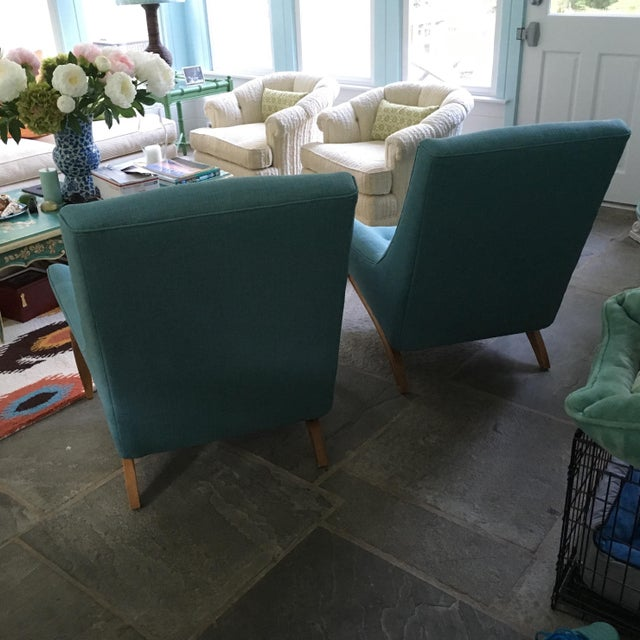 Mid-Century Gondola Chairs - A Pair - Image 3 of 6
