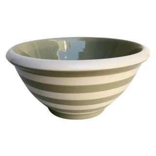 Terramoto Striped Mixing Bowl