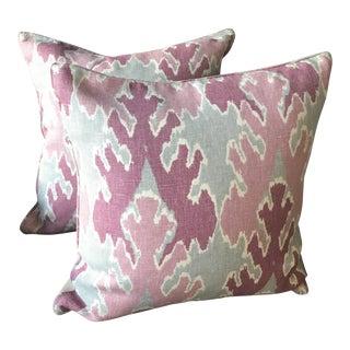 Lee Jofa Bengal Bazaar Pillows - A Pair