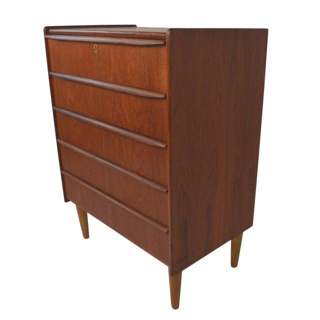 Danish Modern Teak Dresser - Image 1 of 7