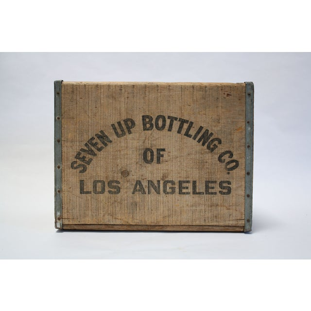 Vintage Wooden 7-Up Crate - Image 4 of 6