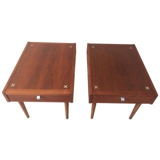 American of Martinsville Side Tables - A Pair