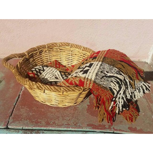 Large French Market Basket - Image 5 of 5