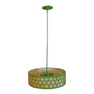 Vintage Shell Hanging Lamp