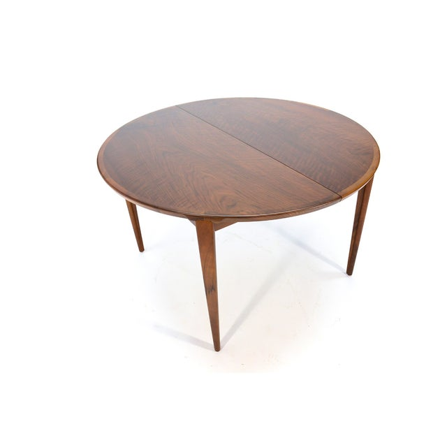 Rosengren Hansen Round Walnut Dining Table - Image 2 of 9