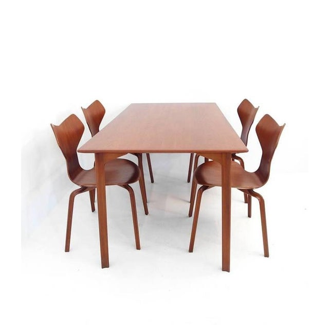 Arne Jacobsen Grand Prix Dining Table - Image 9 of 9
