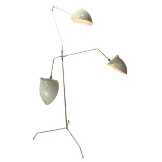 Vintage Serge Mouille Style Three-Arm Floor Lamp
