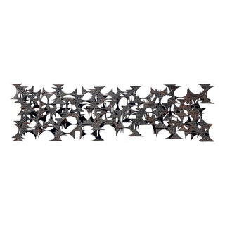 Brutalist 1960s Wall Sculpture by Marc Creates