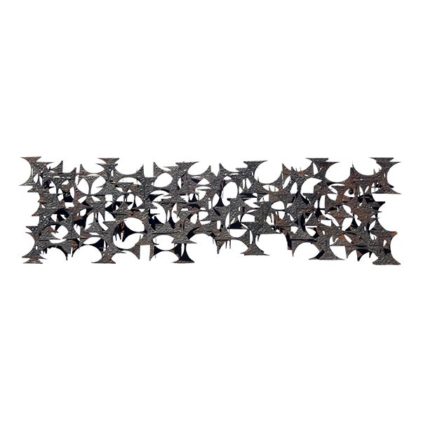 Image of Brutalist 1960s Wall Sculpture by Marc Creates