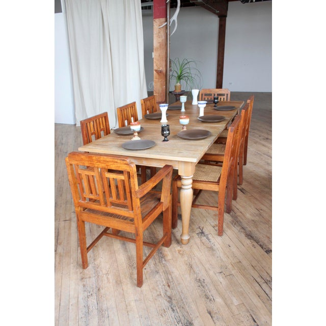 Antique Arts & Crafts Chairs- Hand Caned Craftsman Oak - Image 3 of 11