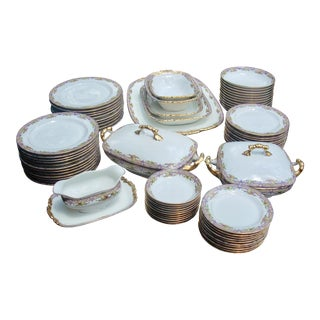 Limoges China Set - 73 Pieces
