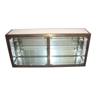 An Exceptional Vitrine/Console