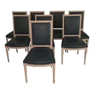 Custom Louis XVI Dining Chairs - Set of 8