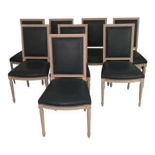 Custom Louis XVI Dining Chairs - Set of 8
