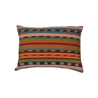 Striped Hand Loomed Pillow