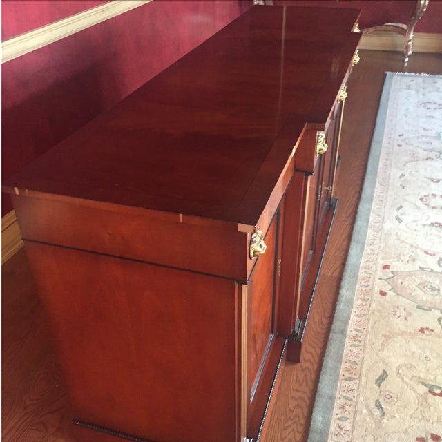 Flame Mahogany Side Cabinet - Image 5 of 10