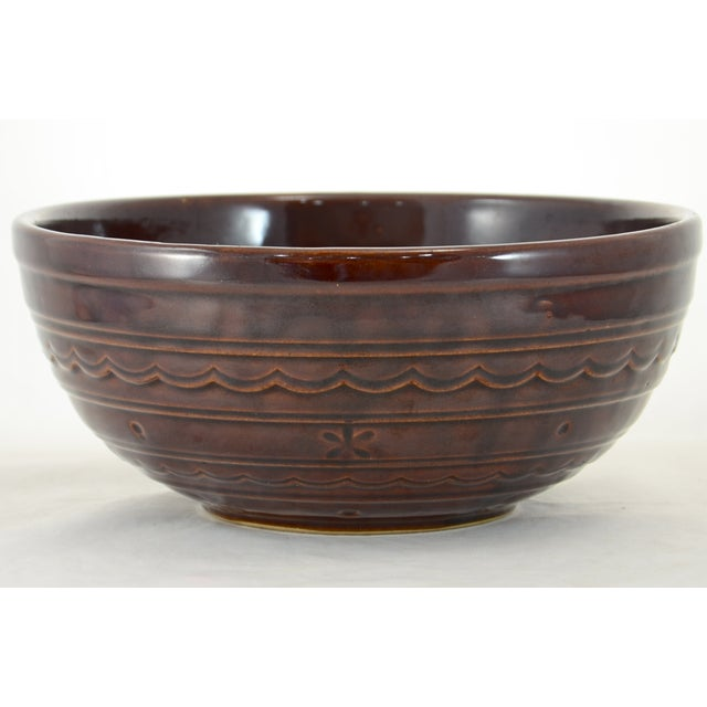 Brown Rustic Stoneware Bowl - Image 2 of 5
