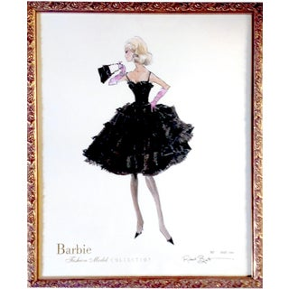 "Robert Best Limited Edition ""Enchantment"" Barbie Print"