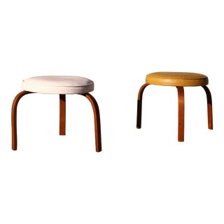1960's Bentwood Stools - A Pair