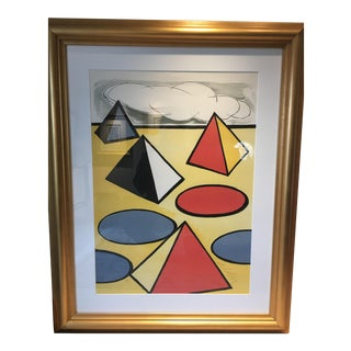 "Alexander Calder ""La Piege"" (The Trap) Lithograph"