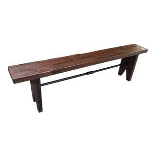 Rustic Farm Bench