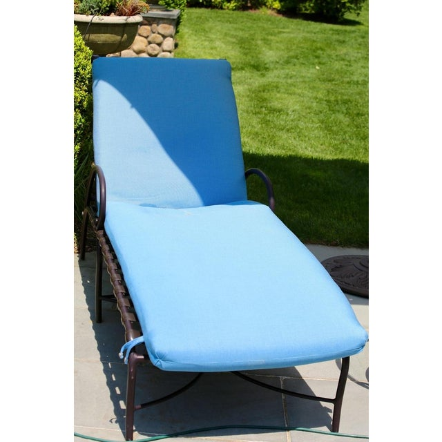 Brown Jordan Roma Strap Collection Chaise Lounger - Image 4 of 4