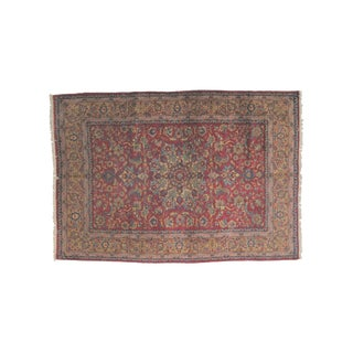 Leon Banilivi Persian Yazd Carpet - 7′ × 10′