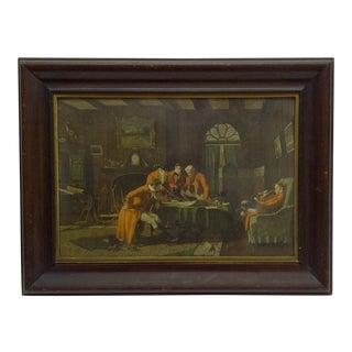 """Vintage Framed Print """"The Gentlemen"""""""