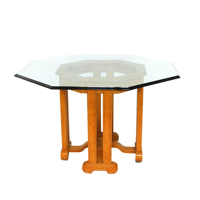 Asian Octagonal Dining Table - Image 1 of 6