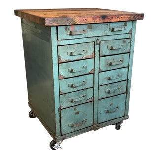 Industrial Storage Cabinet Console