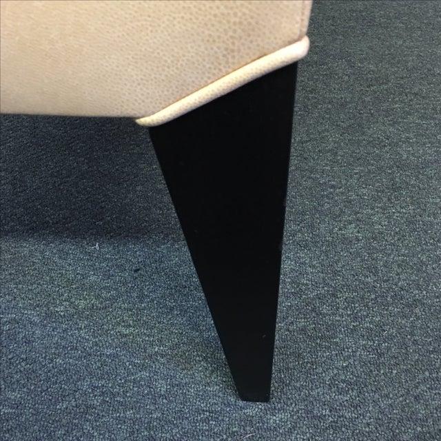 Dakota Jackson Ocean Leather Chair - Image 8 of 10