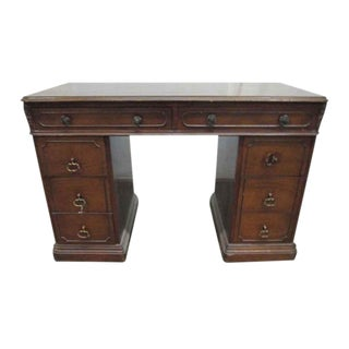 Traditonal Mahogany Secretary Desk