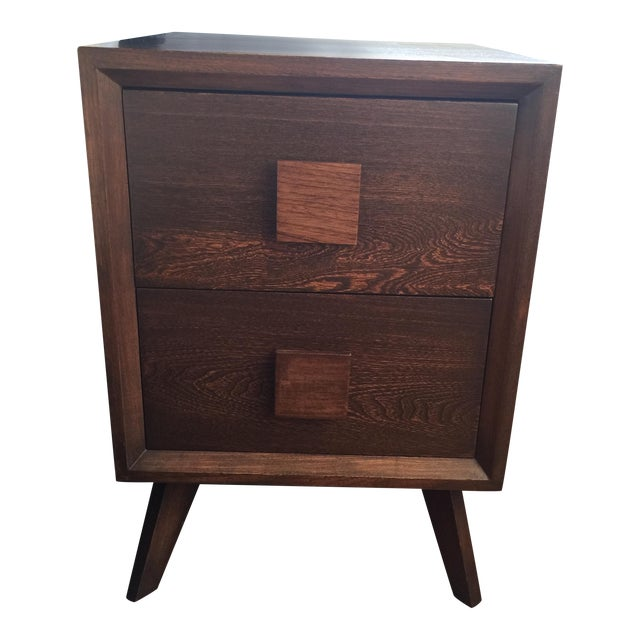 Image of Mid-Century Modern Side Tables - A Pair