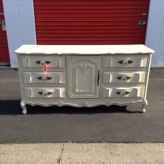 French Provincal Buffet Dresser - Image 2 of 8