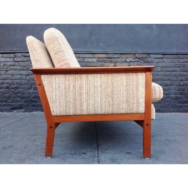 Mid Century Danish Teak Sofa - Image 6 of 8