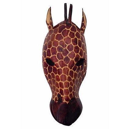 Image of Kenyan Handcrafted Giraffe Mask