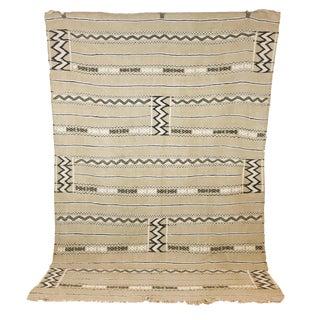 Moroccan Neutral Berber Kilim - 5.8 x 8.5
