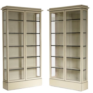 "Important Pair of Edvard Thomsen ""Nyantik"" Cabinets"