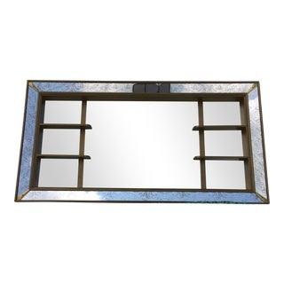 Mid-Century Mirror Shadow Box