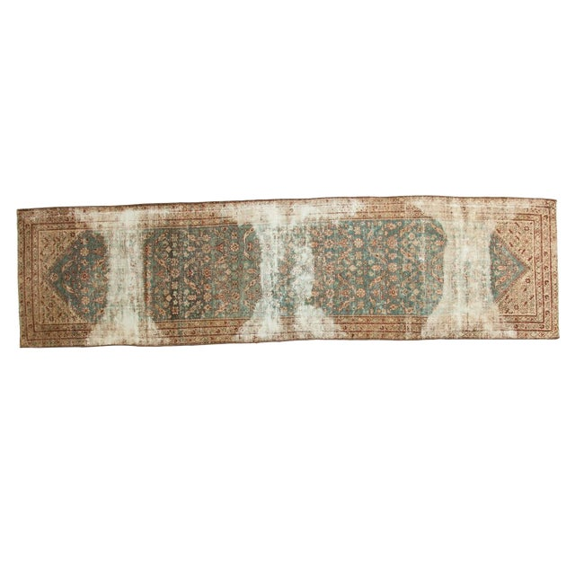"Antique Malayer Rug Runner - 3'6"" x 13'3"" - Image 1 of 10"