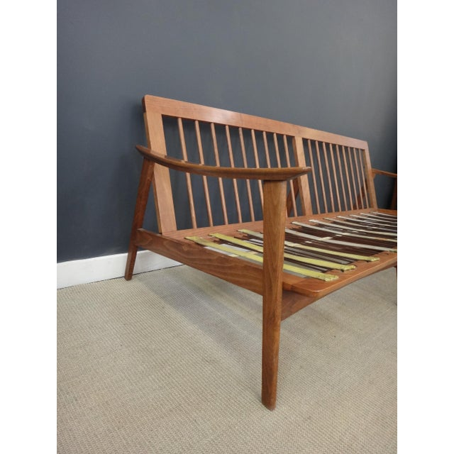 Danish Modern Lounge Sofa Frame - Image 3 of 4
