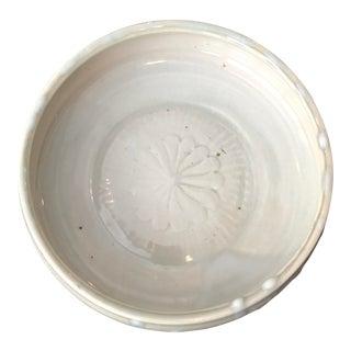 Mid-Century Studio Pottery Sunburst Bowl