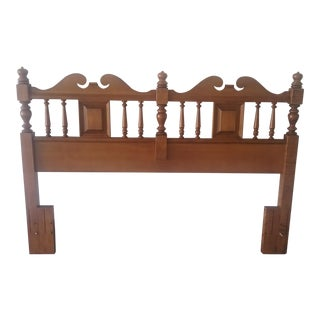 Antique Tell City Queen/Full Headboard