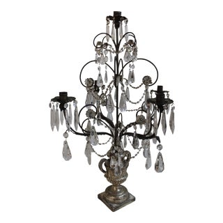 Antique Italian Five Light Candelabra