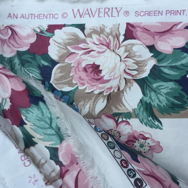Vintage Schumacher Floral Chintz Fabric - 4.66 Yards - Image 7 of 9