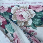 Image of Vintage Schumacher Floral Chintz Fabric - 4.66 Yards