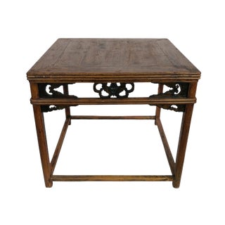 Antique Ningbo Carved Dining Table