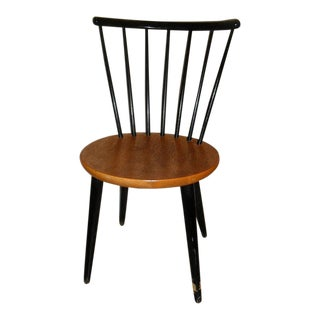 Danish Modern 1950's Teak Spindle Back Chair