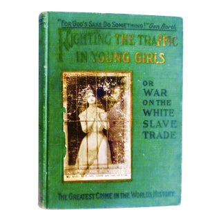 1910 Fighting Trafficking in Young Girls Scandal Book